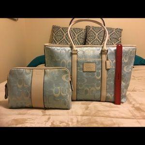 Coach Transatlantic Travel Bags